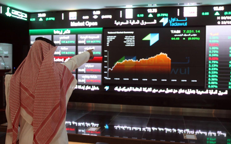 مؤشر سوق الأسهم يغلق مرتفعًا بتداولات بلغت أكثر من 2.4 مليار ريال