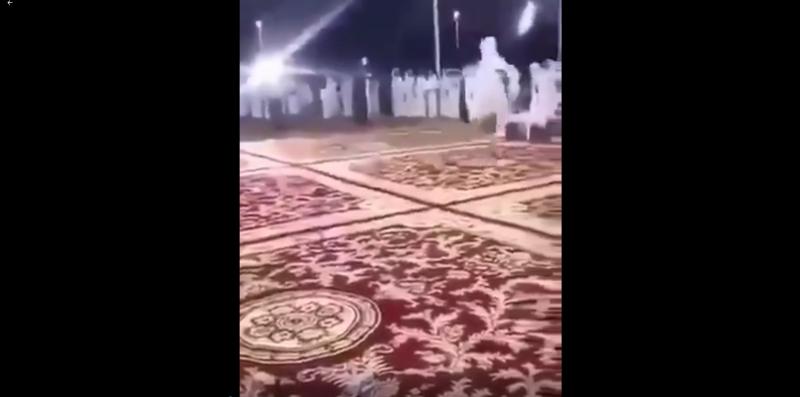 فيديو.. أطلق النار بحفل زواج في نجران فطرده والد العريس