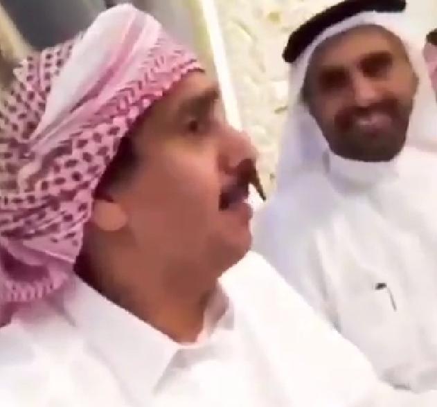 ابن الذيب يستنجد بالسعودية بقصيدة جديدة و غامضة .. وهذا تحليلها
