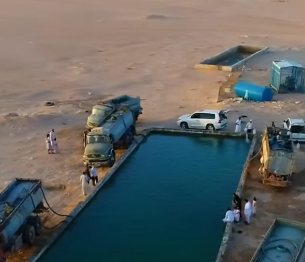 بالفيديو العين الكبريتية الحارة بالسعودية التي شفي بسببها الكثير