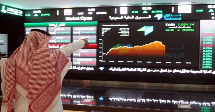 """""""الأسهم السعودية"""" يغلق مرتفعًا بتداولات تجاوزت 3.9 مليار ريال"""
