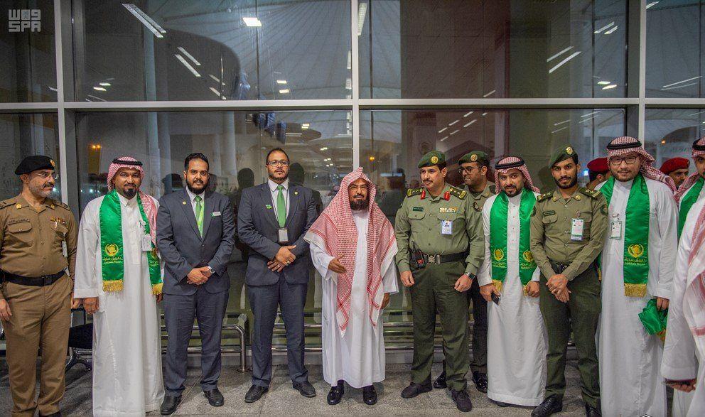 السديس يزور صالة الحجاج بمطار الملك عبدالعزيز الدولي بجدة