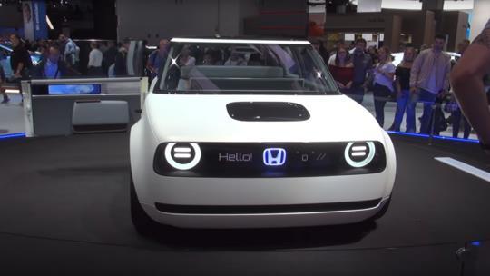 """""""هوندا"""" تستعد لإطلاق سيارة كهربائية متميزة (فيديو وصور)"""