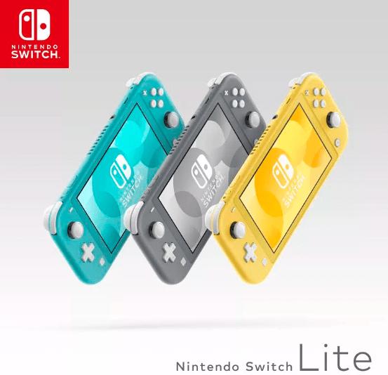 نينتندو تكشف عن نسخة مخففة من جهاز الألعاب Switch Lite