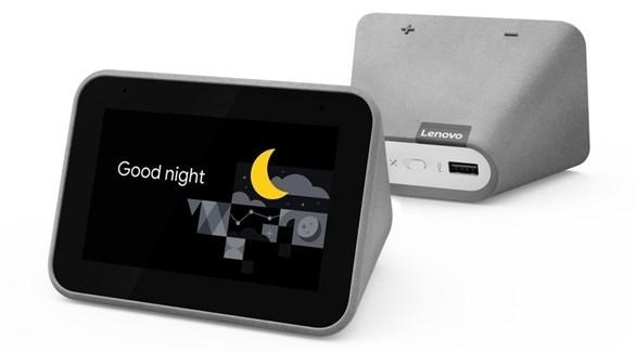 لينوفو تطلق المنبه الذكي الجديد Smart Clock