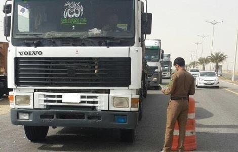 """""""المرور"""" يحذّر قائدي الشاحنات والمعدات الثقيلة من 5 مخالفات"""