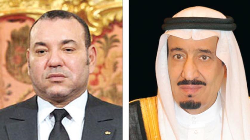 خادم الحرمين وولي العهد يتلقيان اتصالاً هاتفياً من ملك المغرب