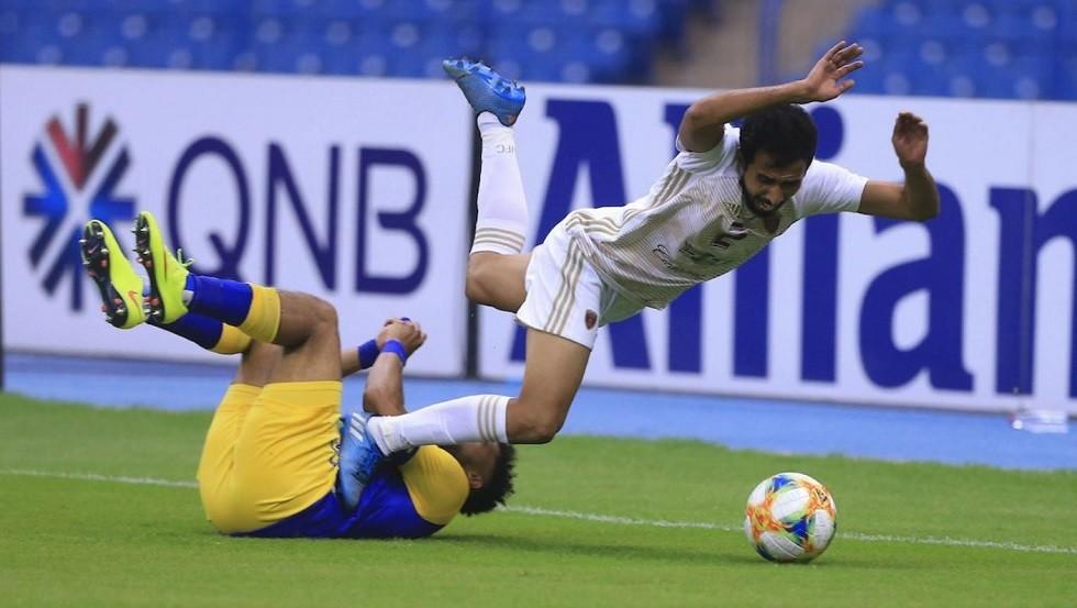 مباراة النصر السعودي أمام الوحدة الإماراتي