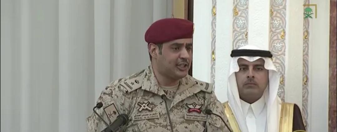 قصيدة الشاعر مشعل بن محماس أمام خادم الحرمين الشريفين