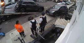فيديو.. شاب يحطم سيارات بالملايين!