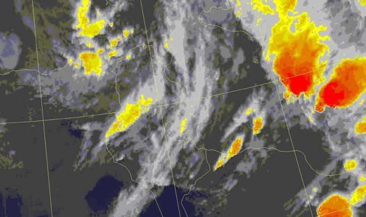 """""""الأرصاد"""": تقلبات جوية على بعض المناطق ابتداءً من الأحد القادم"""