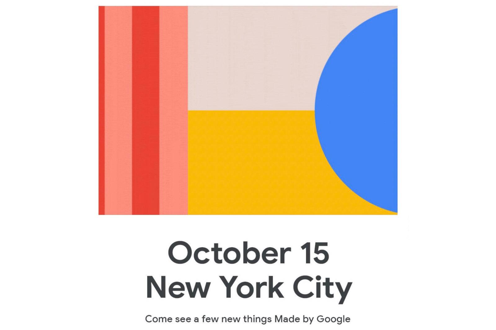 قوقل ستكشف عن هواتف Pixel 4 يوم 15 أكتوبر القادم