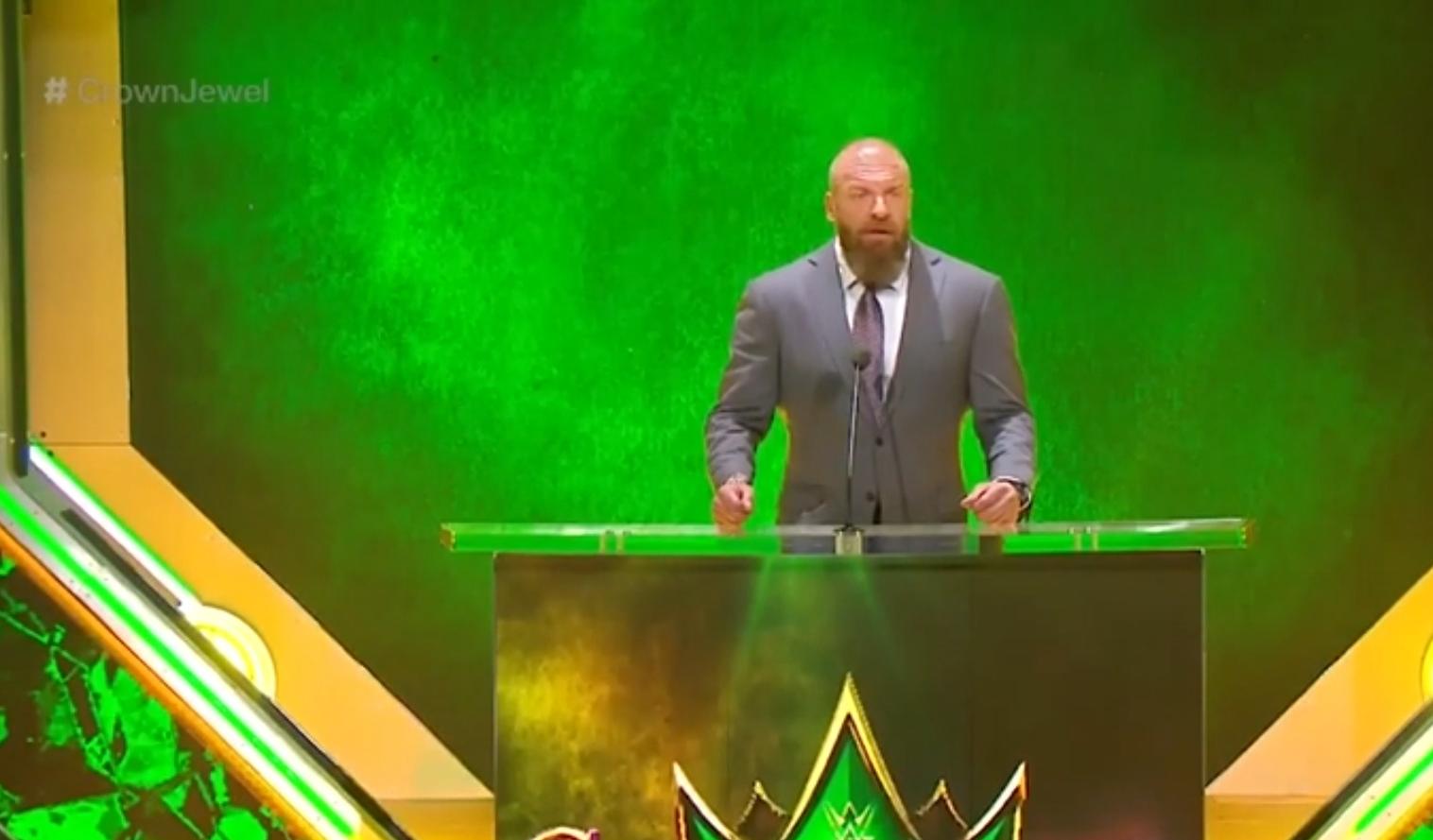 اعلان WWE عن اول نزالين في موسم الرياض