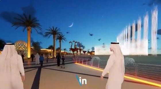 """""""آل الشيخ"""" ينشر فيديو للتصور النهائي لـ""""الرياض بوليفارد"""".. ويعلّق عليه"""
