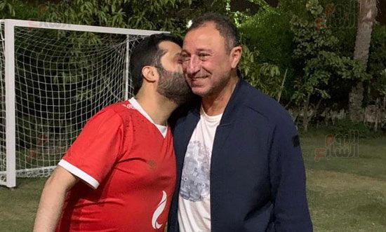 """""""تركي آل الشيخ"""" يفاجئ متابعيه بصور له من داخل منزل """"الخطيب"""" بالقاهرة"""