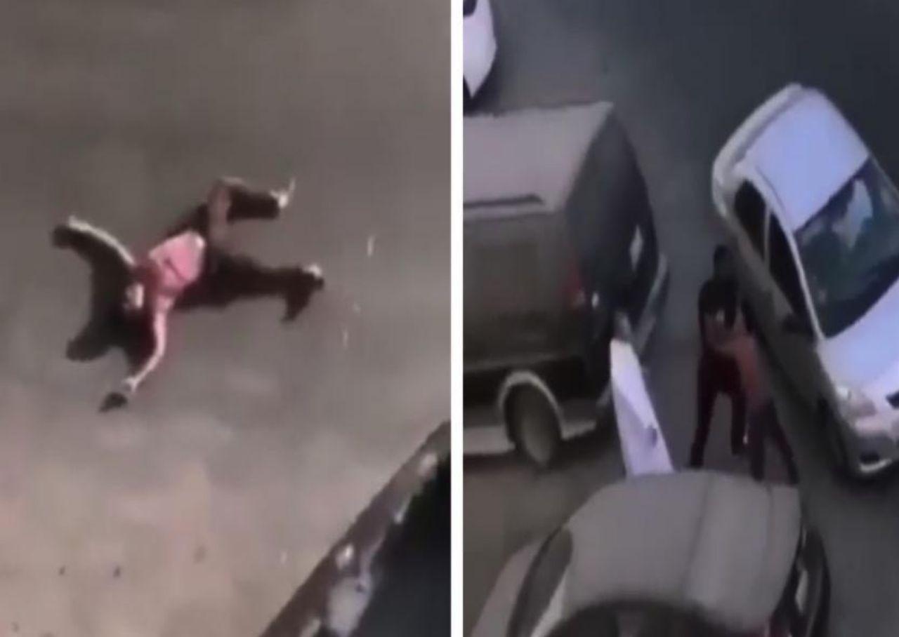 بالفيديو: شاب يعتدي على عامل مغسلة الملابس بطريقة وحشية في المنطقة الشرقية.. والكشف عن تطورات الواقعة