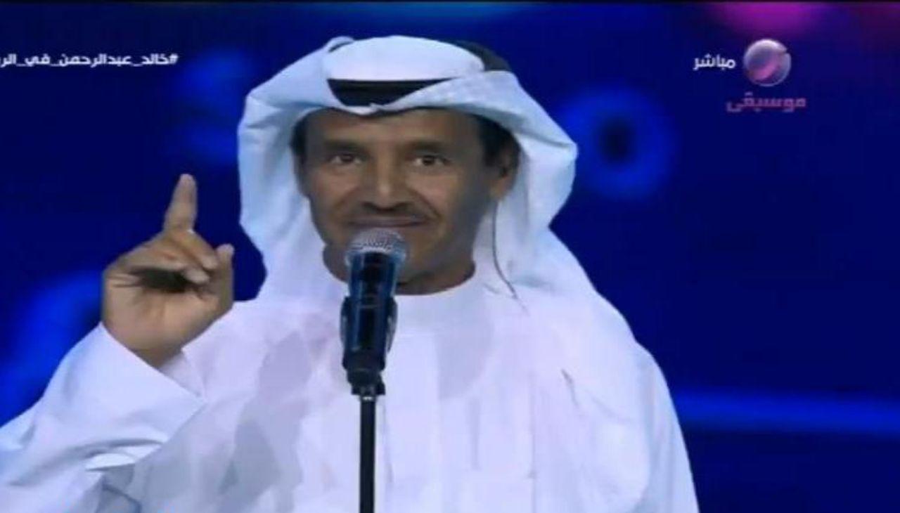 """بالفيديو : الفنان خالد عبدالرحمن يهنىء الهلال بالفوز على أوراوا .. ويعلق على ردة فعلهم : """"لا تصايحون"""""""