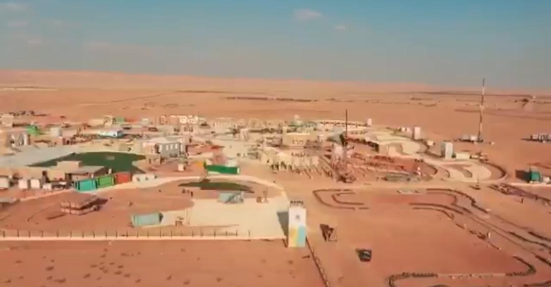 استعدادات هيئة الترفيه لـ منطقة الثمامة في #موسم_الرياض