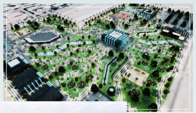 """تتضمن صالة لألعاب الواقع المعزز.. تعرف على """"الحديقة الذكية"""" بحي المرسلات في الرياض"""