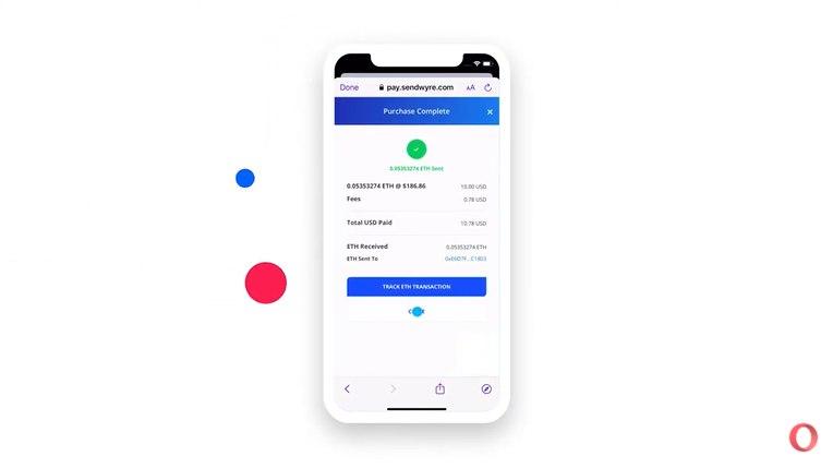 متصفّح أوبرا يدعم الآن شراء العملات المشفرة باستخدام آبل باي