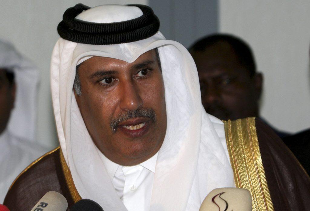 تغريدة لحمد بن جاسم تؤكد قيادته للانقلاب القطري
