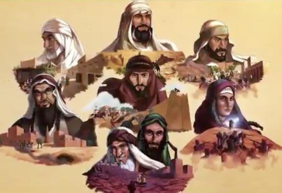 """بأسلوب القصص المصورة.. """"العوجا"""".. أول إنتاج يستعرض شخصيات سطرت باسمها تاريخ المملكة"""