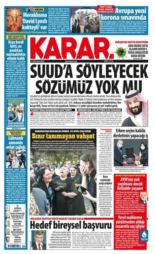 سياسي تركي: ألا يوجد بيننا من يرد على السعوديين؟