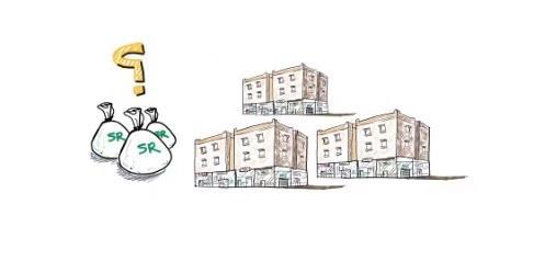 بفيديو توضيحي مبسط.. متى تُطبق ضريبة القيمة المضافة أو ضريبة التصرفات العقارية على العمارات السكنية