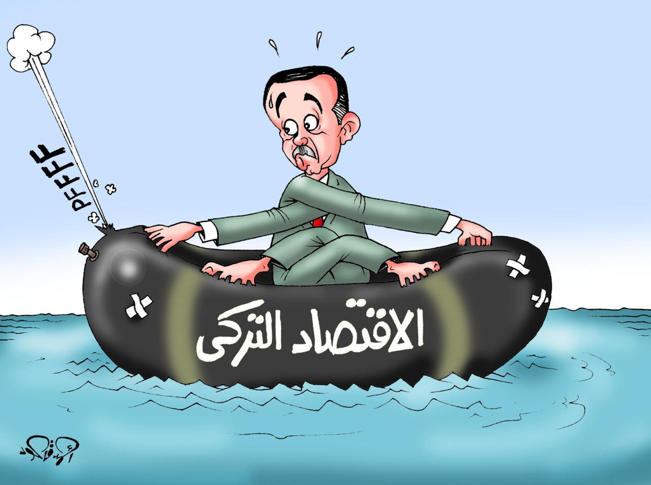 وضع الإقتصاد التركي #قاطعوا_المنتجات_التركيه