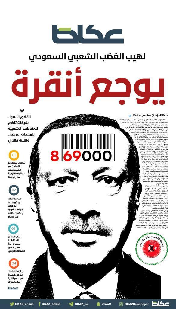 الشركات السعودية تقاطع المنتجات #التركية