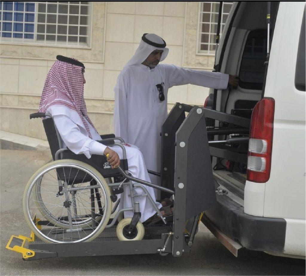 """""""حركية"""" تنفذ أكثر من 12.300 رحلة نقل لذوي الإعاقة خلال العام الماضي"""