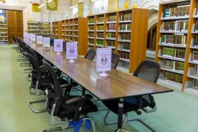 مكتبة الحرم المكي منهل طلاب العلم والمعرفة