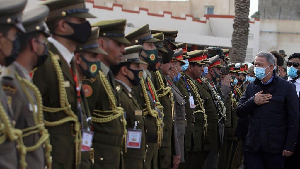 وزير دفاع تركيا من طرابلس: وجودنا هنا لحماية الليبيين