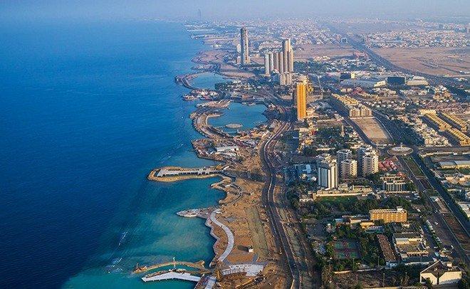 صورة مُذهلة التقطت لمدينة جدة ترصد تألقها من الفضاء