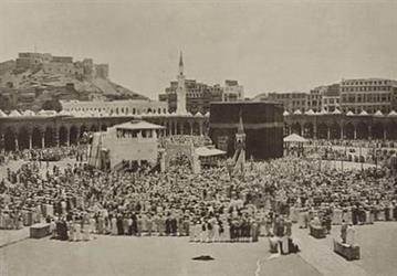 شاهد.. صور توثق الحياة في مكة والمشاعر المقدسة في الحج التقطها هولندي قبل 130 عاماً