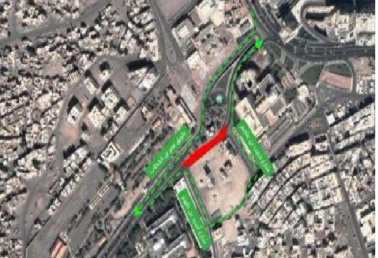 """""""المرور"""": إغلاق طريق عمر بن الخطاب في المدينة لمدة شهر"""