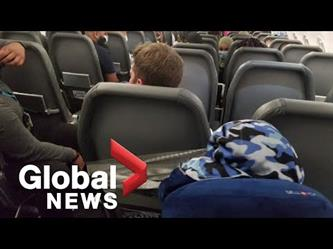 تقييد شاب بشريط لاصق إلى مقعد طائرة بعد مهاجمته مضيفة طيران خلال رحلة