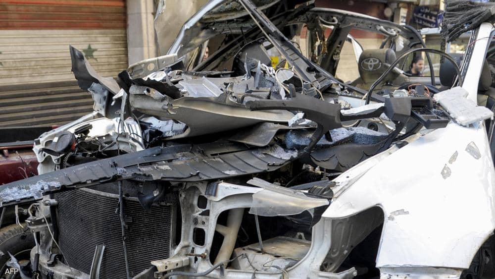 قتيل و3 مصابين بانفجار حافلة عسكرية في دمشق