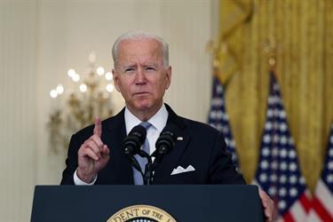 بايدن: قمنا بأسرع عملية إجلاء بتاريخ أمريكا.. وسنعود لأفغانستان في هذه الحالة