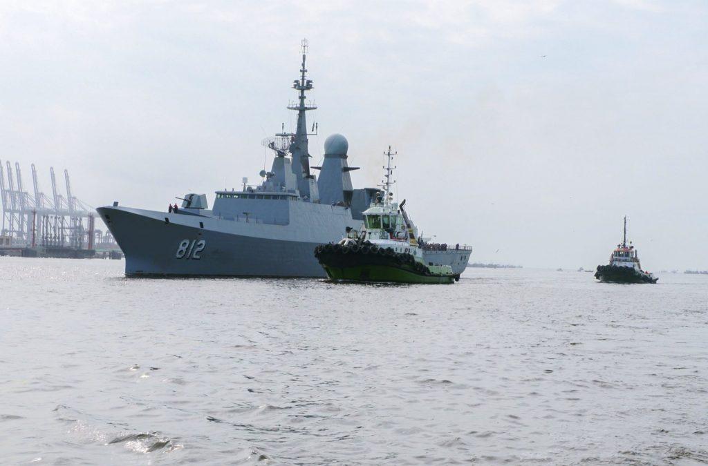 """سفن القوات البحرية الملكية تصل إلى باكستان لتنفيذ التمرين البحري الثنائي المختلط """"نسيم البحر 13"""""""
